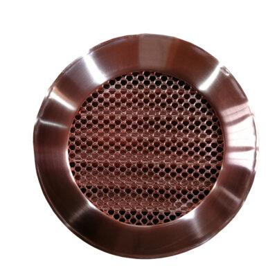 Вентиляционная решетка из меди круглая
