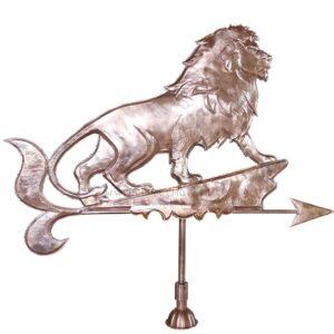 Флюгер лев на скале